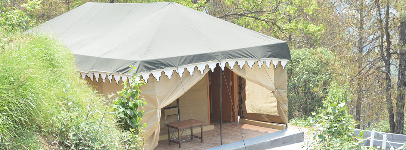 Stay in Mountain Luxury Tents